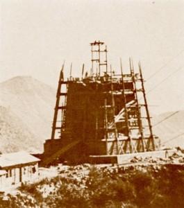 ossario in costruzione