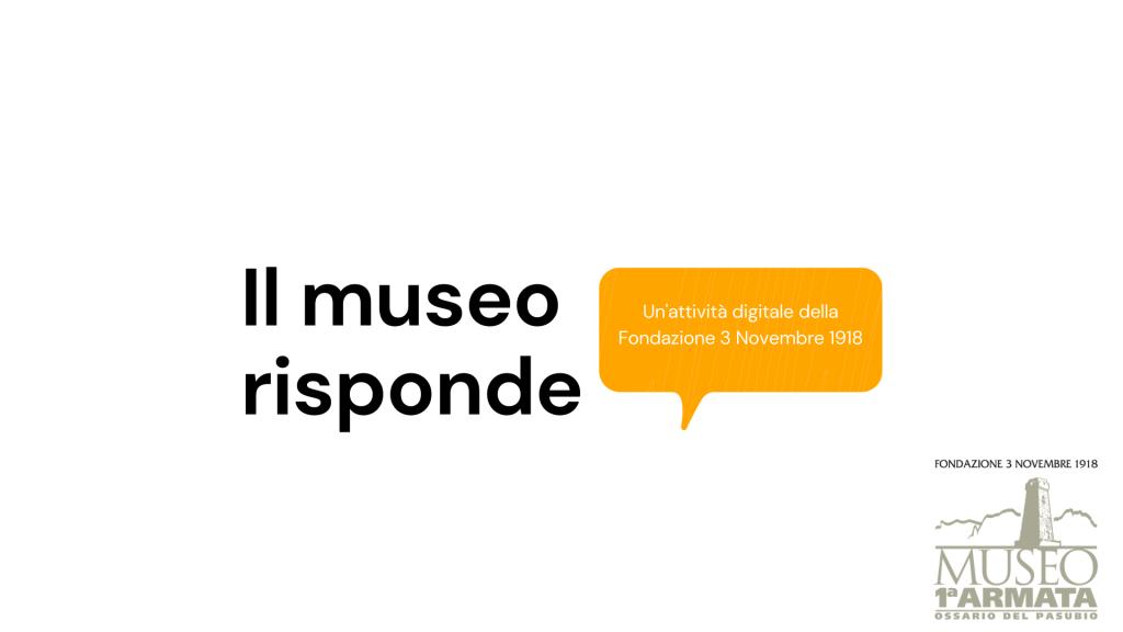 Se lo chiedi, il museo risponde